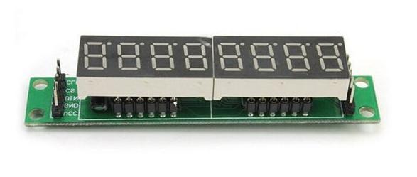 MAX7219 seven segment display