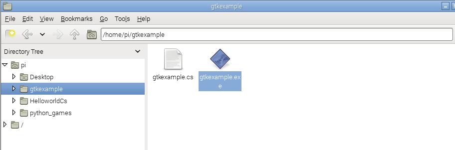 gtk folder structure