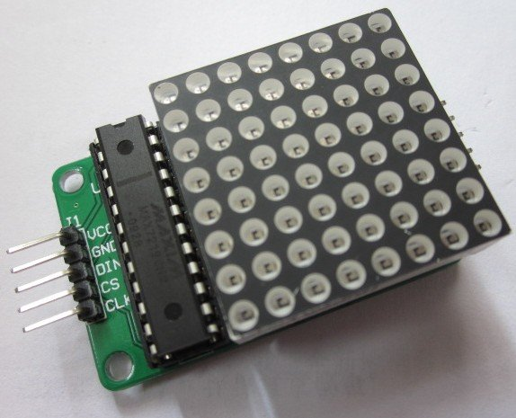 max7219 8x8 matrix