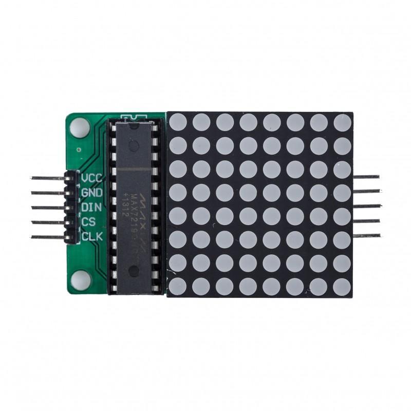 Raspberry Pi 8×8 LED matrix example   Pi bits