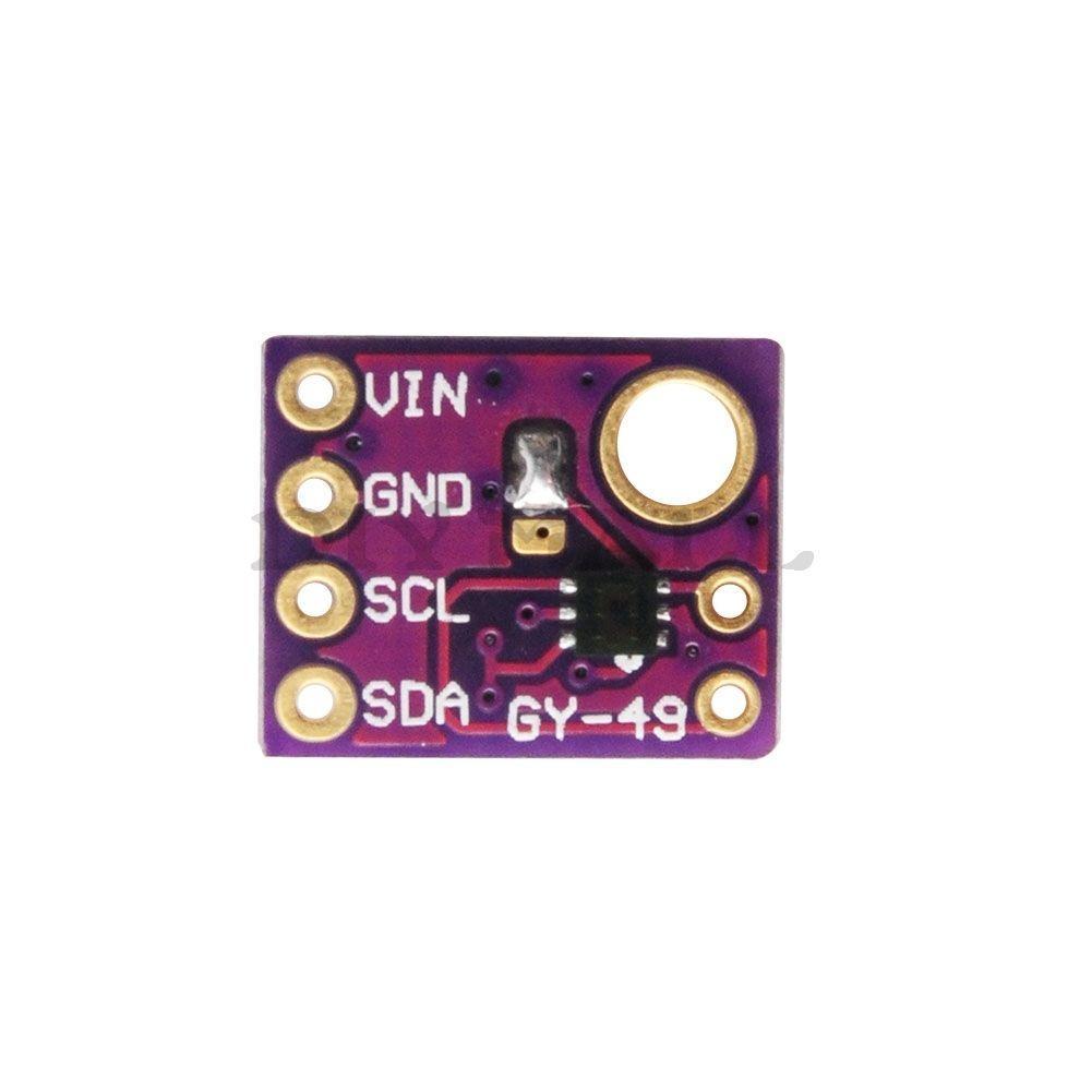 Raspberry Pi and MAX44009 ambient light sensor example   Pi bits